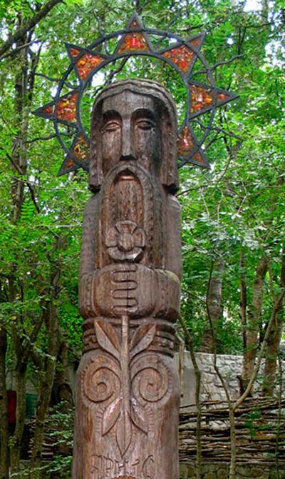 Jarilo - bog vegetacije, sin boga Peruna i božice Mokoš.