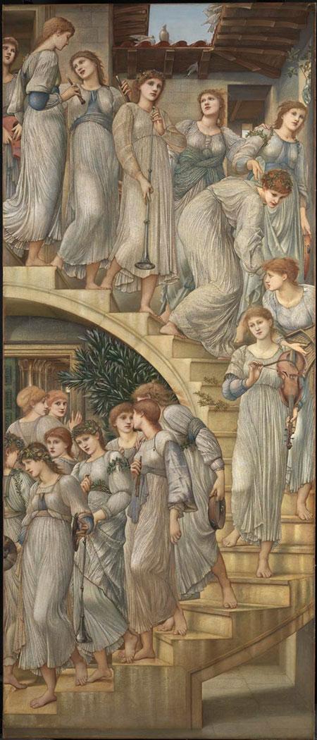 Zlatne stepenice (1880.). 269 x 117 cm. Tate Gallery. London