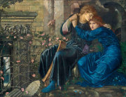 Burne-jones_love_among_the_ruins