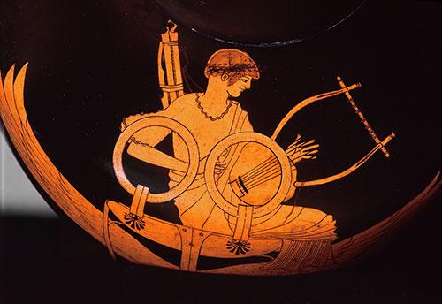 Platon-Apolon-berlin-hydria-detalj
