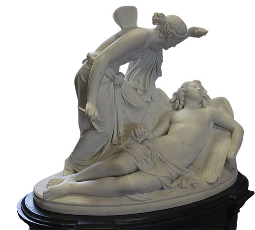 Amor i Psiha, Reinhold Begas