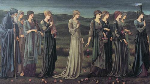 Vjenčanje Psihe, Edward Burne-Jones