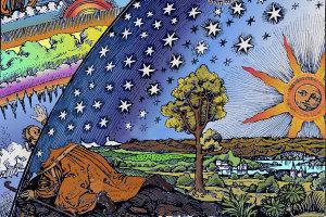 Giordano-Bruno-Flammarion_1888