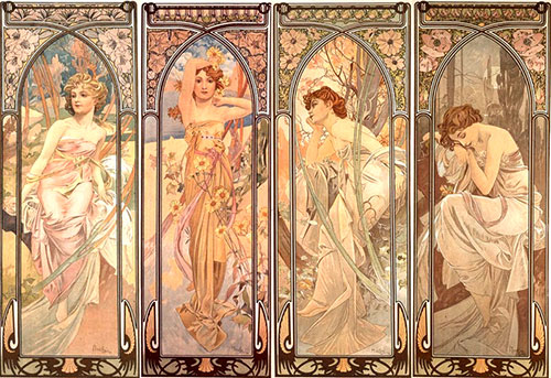 Secesija-mucha-the-times-of-the-day