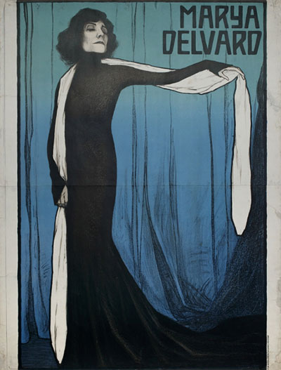 Secesija-tomislav-krizman-Marya-Delvard-plakat