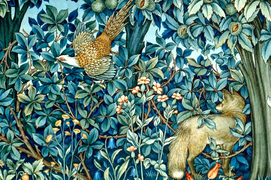 Secesija-william-morris-porculanske-plocice