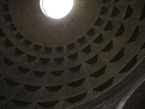 Hadrijanov-rim-pantheon-kupola