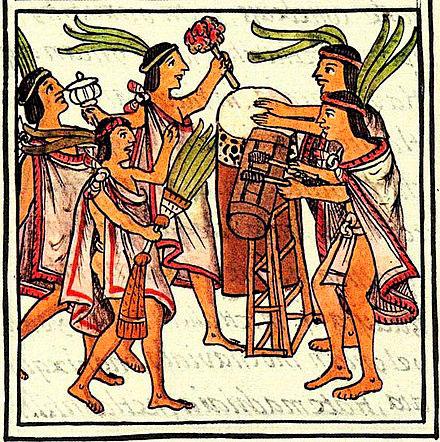 aztecka-poezija-bubnjari-firentinski-kodeks