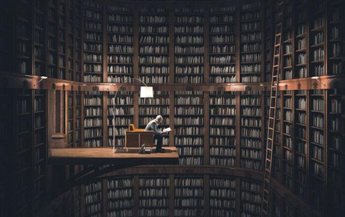 Intelektualizam---Knjiznica