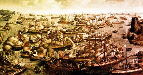Bitka kod Lepanta, 1571. godine